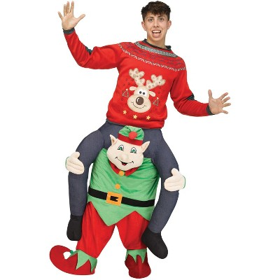 Fun World Carry Me Elf Adult Costume