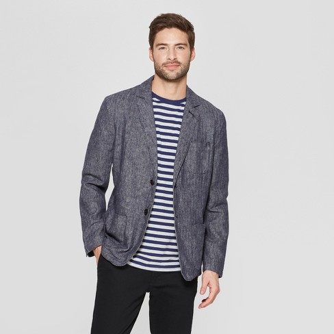 Men's Standard Fit Blazer - Goodfellow & Co™ - image 1 of 3