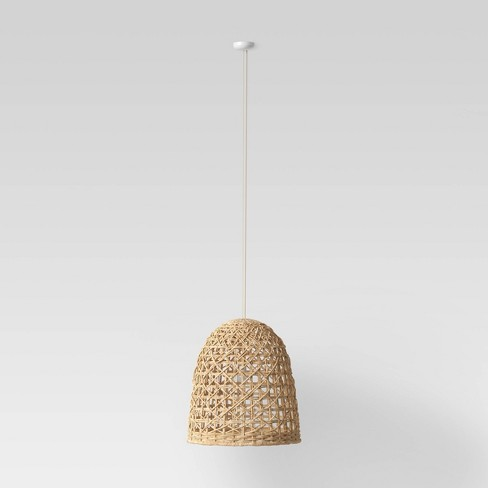 Small Seagrass Light Pendant Light Brown (Includes Energy Efficient Light Bulb) - Opalhouse™ - image 1 of 4