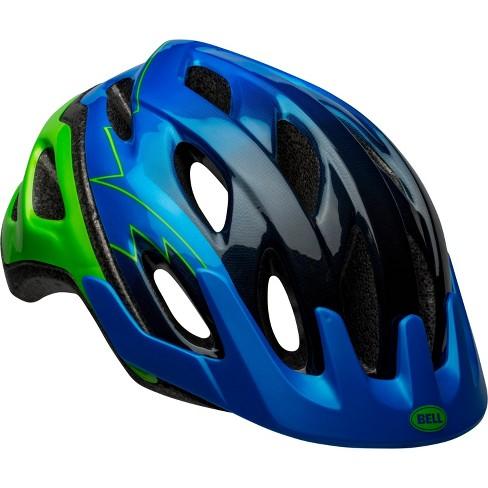 Bell Rev Kids' Helmet - Blue/Green - image 1 of 4