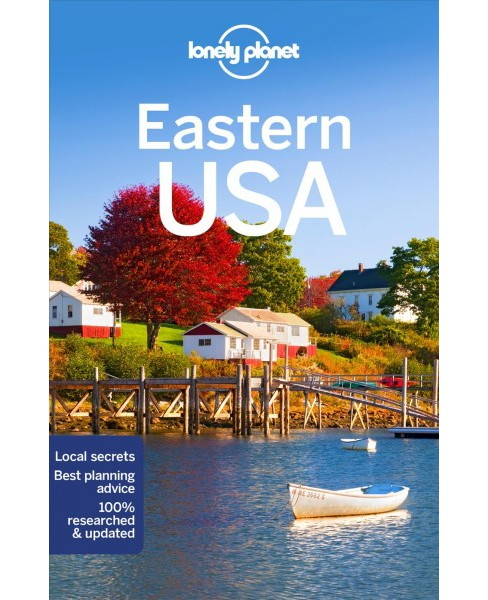 Lonely Planet Eastern USA -  4 (Paperback) - image 1 of 1