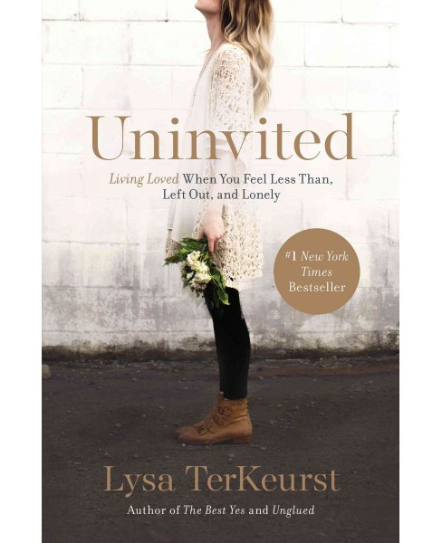 Uninvited: Living Loved When You Feel Less Than, Left Out, and Lonely (Paperback) by Lysa TerKeurst - image 1 of 1