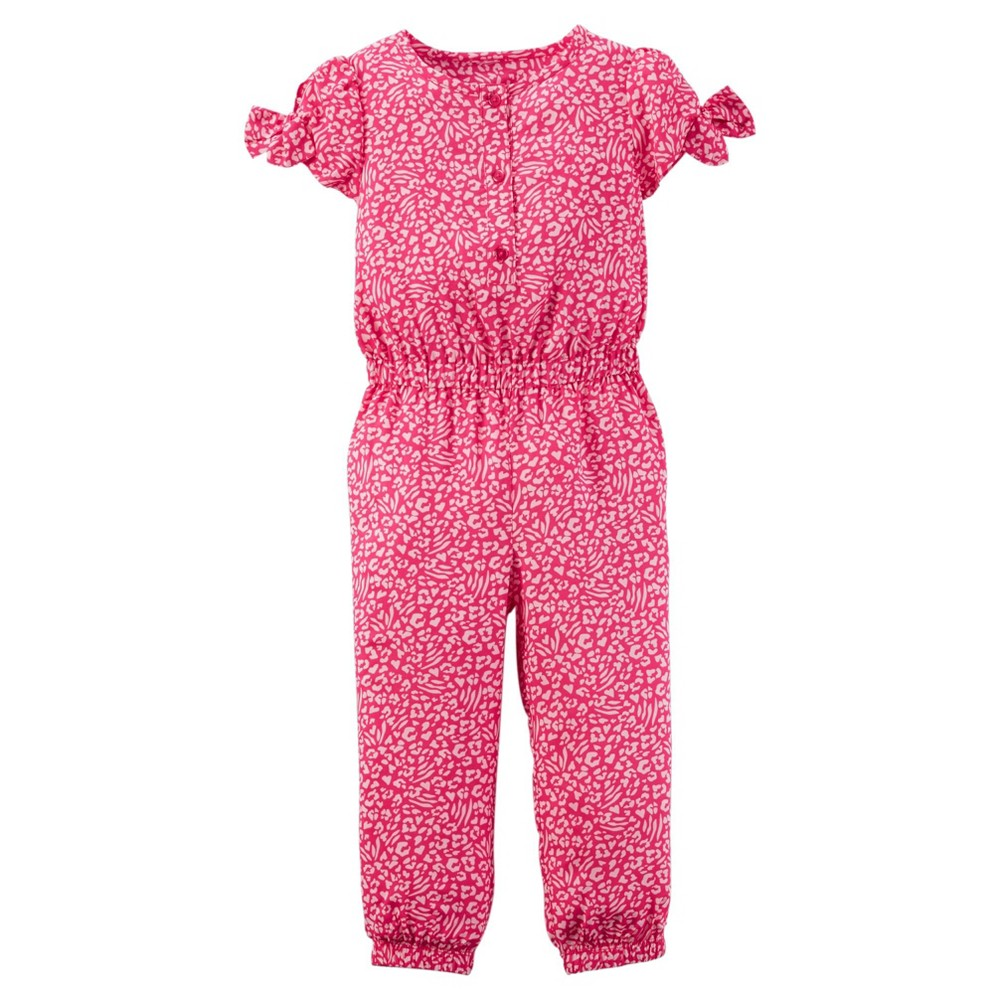Just One You Made by Carter's Baby Girls' Jumpsuit - Pink Floral 12M
