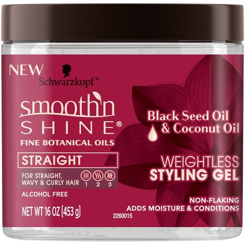 Smooth 'N Shine Black Seed Oil & Coconut Conditioning Gel