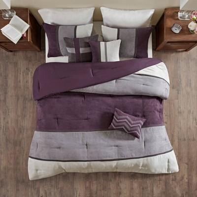 Overland Microsuede Comforter Set 7pc  Homa
