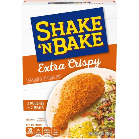 Shake 'N Bake Extra Crispy Seasoned Coating Mix - 5oz - image 1 of 4