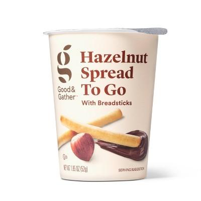Hazelnut Spread with Breadsticks 1.85oz - Good & Gather™