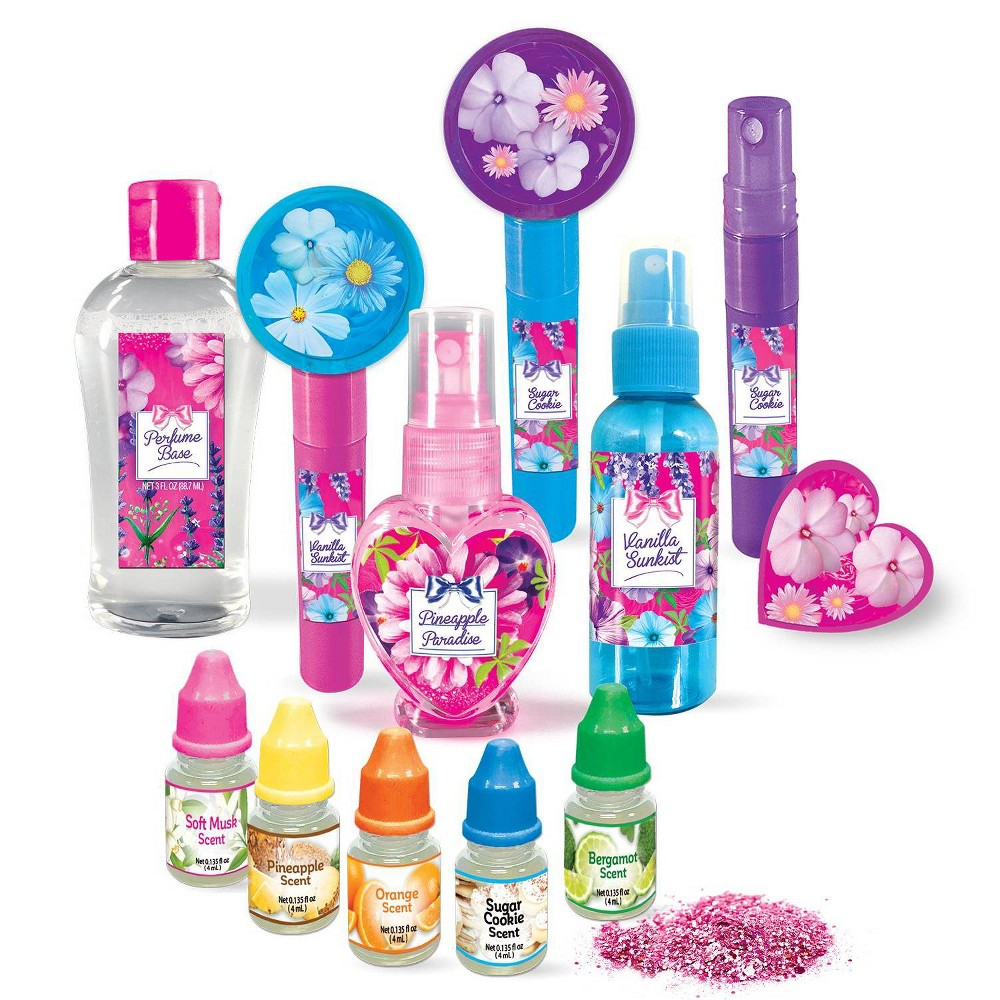 CraZArt My Look Create Your Own Glitter Perfumes Kit