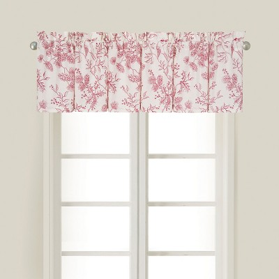C&F Home Evergreen Toile Cotton Valance Window Treatment