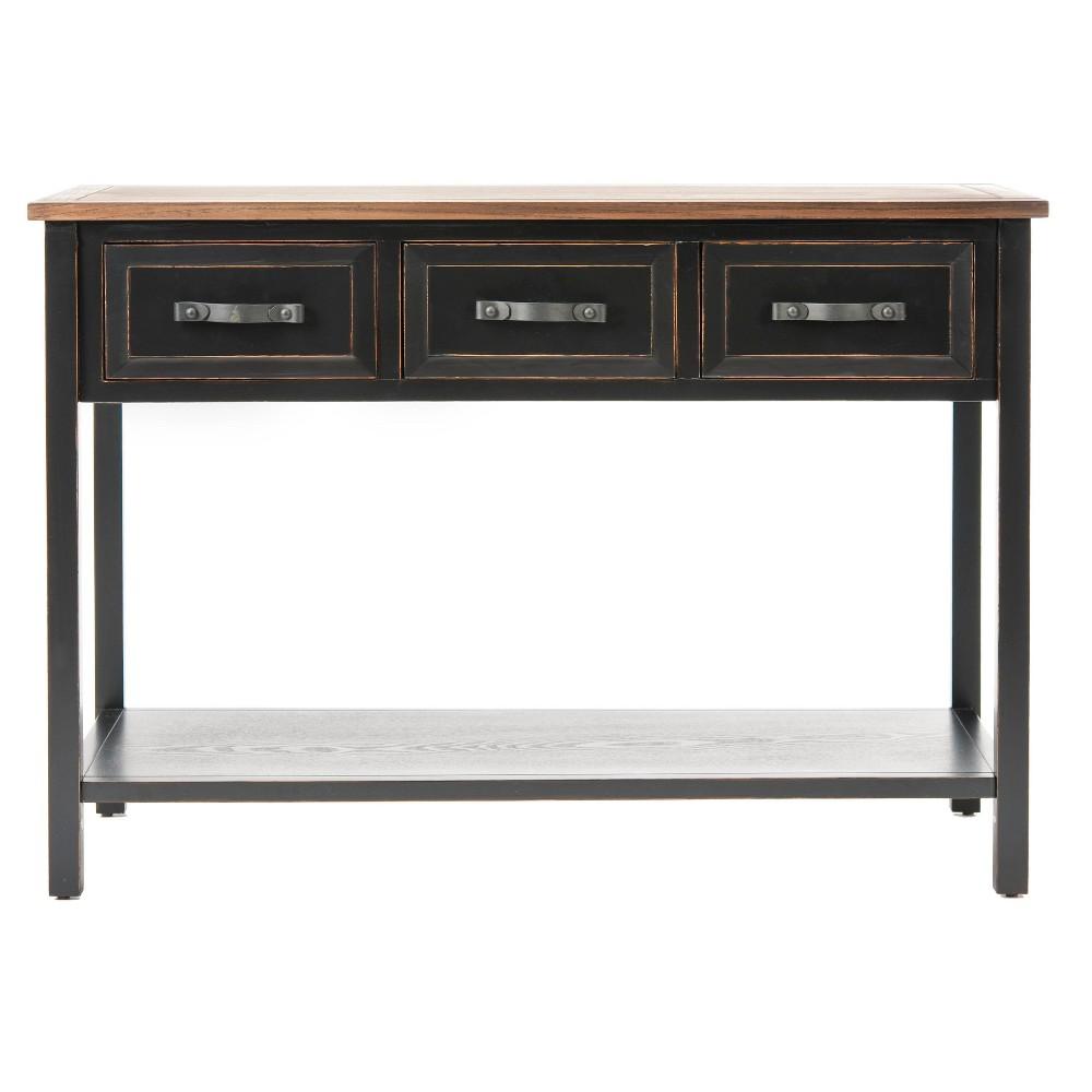Console Table Black Oak - Safavieh
