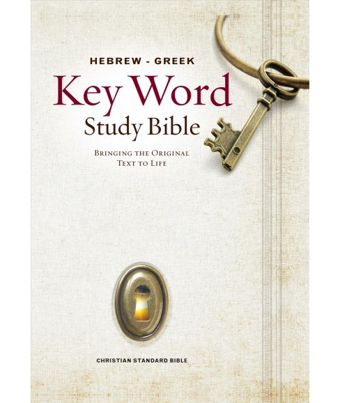Hebrew-Greek Key Word Study Bible : Christian Standard Bible -  (Hardcover) - image 1 of 1