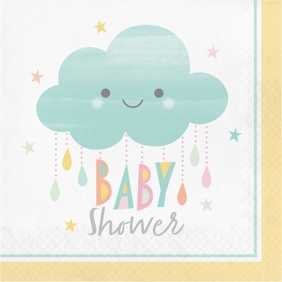 48ct Clouds Baby Shower Napkins