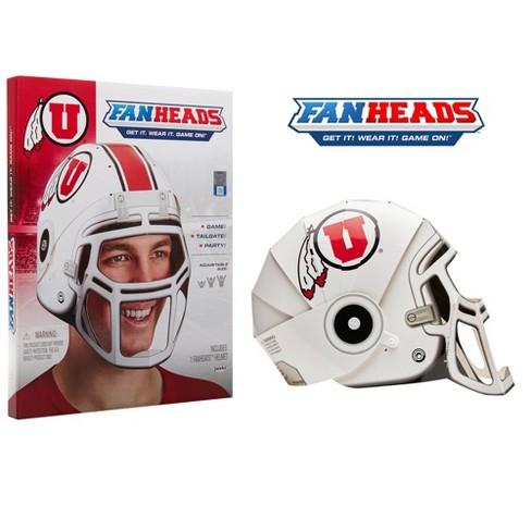NCAA Utah Utes Paper Football Helmet : Target