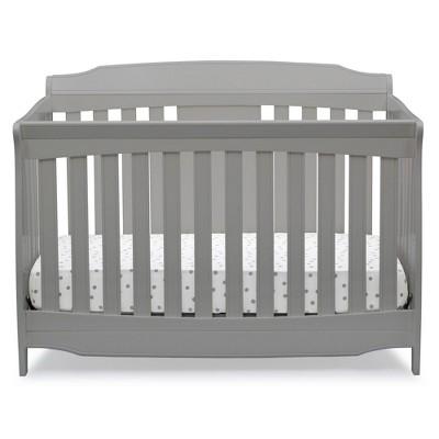 Delta Children Westminster 6-in-1 Convertible Baby Crib - Gray