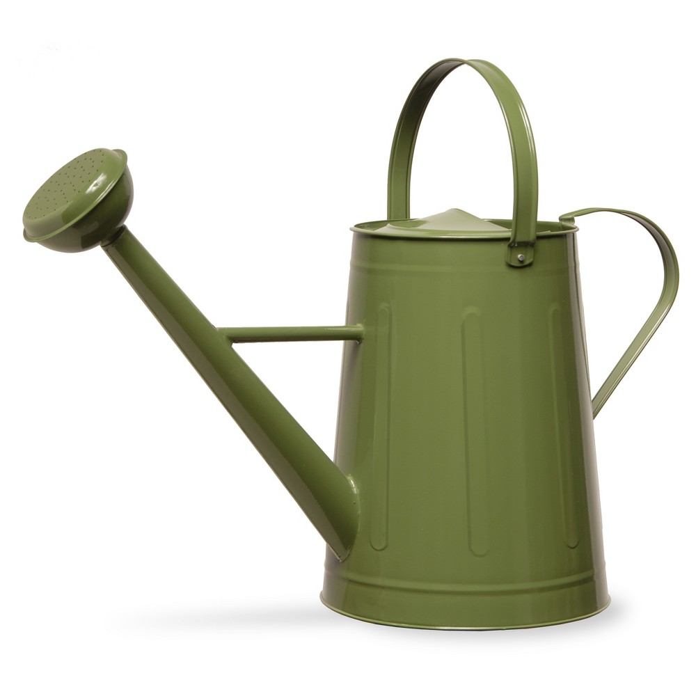 """Image of """"Garden Accents Antique Watering Can Green 17"""""""" - National Tree Company"""""""