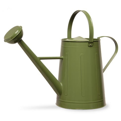 "Garden Accents Antique Watering Can Green 17"" - National Tree Company® - image 1 of 2"