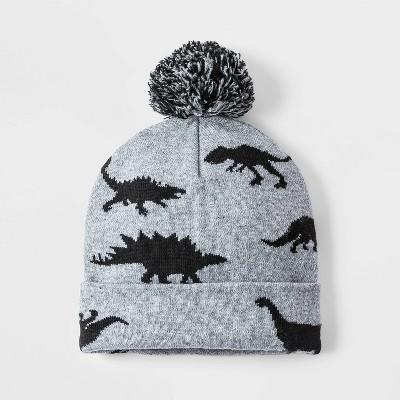 Boys' Dino Hat - Cat & Jack™ Gray