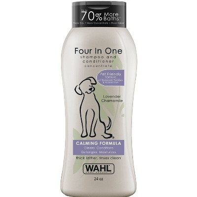 Wahl Four In One Lavender Chamomile Pet Shampoo and Conditioner - 24oz