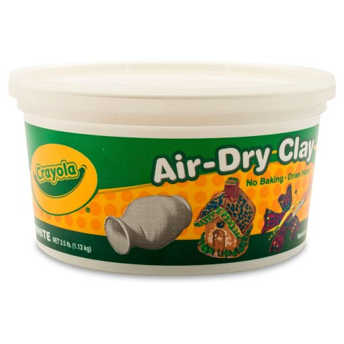 crayola air dry clay 2 5lbs white target