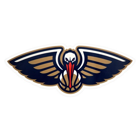 NBA New Orleans Pelicans Large Outdoor Logo Decal - image 1 of 2