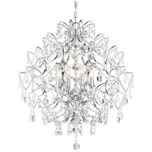 Minka Lavery 3158 Isabella S Crown 8 Light Chandelier