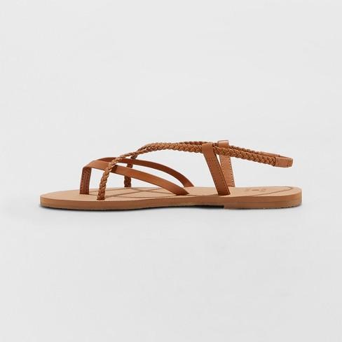 64b2605bdfd4 Women s Cami Braided Thong Sandals - Shade   Shore™   Target