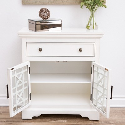 Contemporary Entryway Cabinet With Doors Set