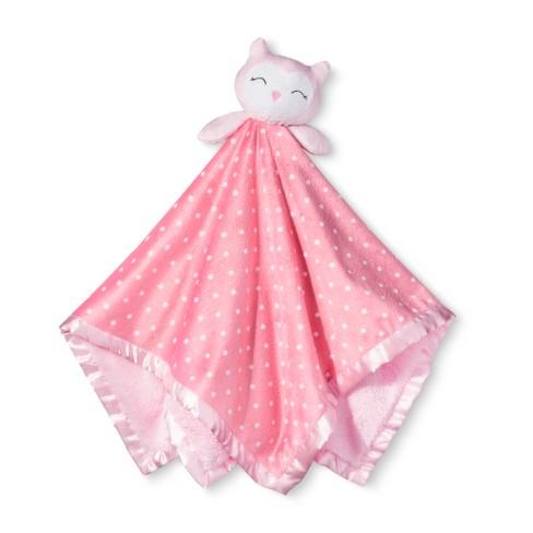 Large Security Blanket Owl - Cloud Island™ Dark Pink   Target 4b3b54c20