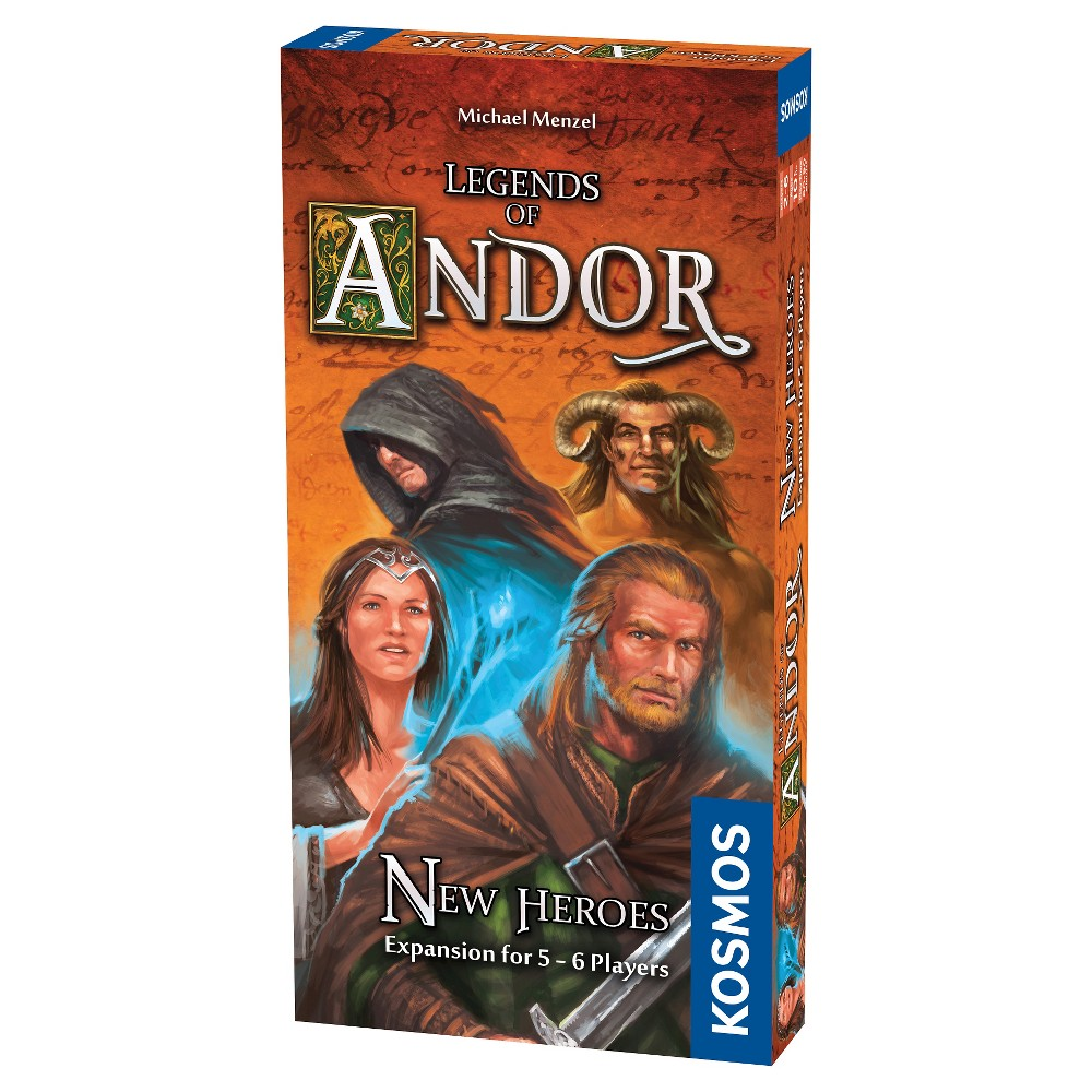 Thames & Kosmos Legends of Andor : New Heroes Expansion Board Game