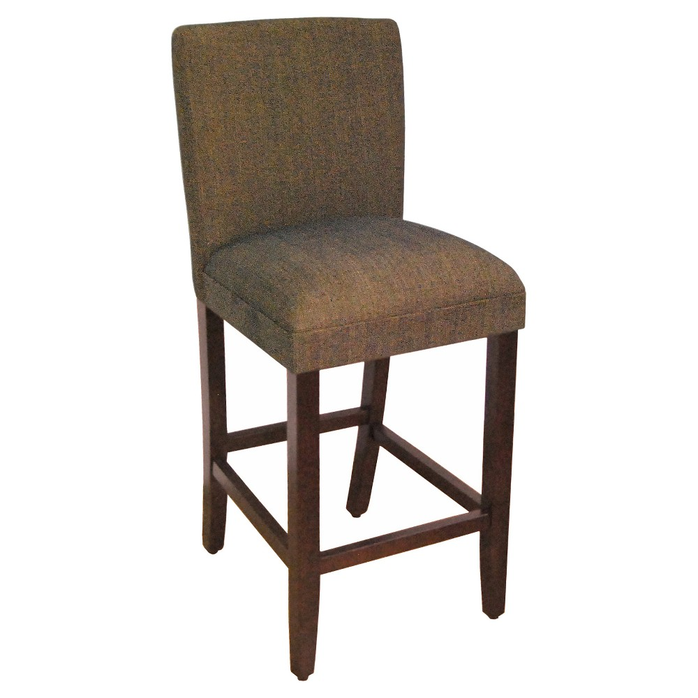 Contemporary Barstool - 29- Brown - HomePop