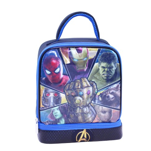 ac4a364ff6 Avengers Infinity War Dual Compartment Lunch Bag   Target