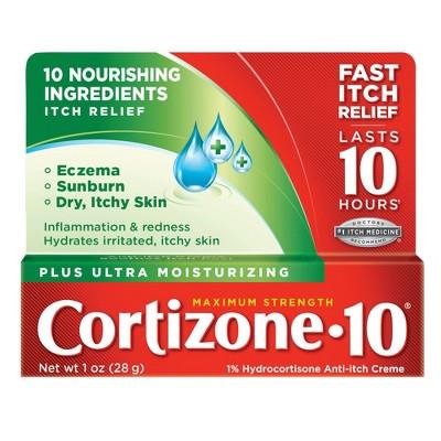 Cortizone 10 Plus Ultra Moisturizing Anti-Itch Crème - 1oz