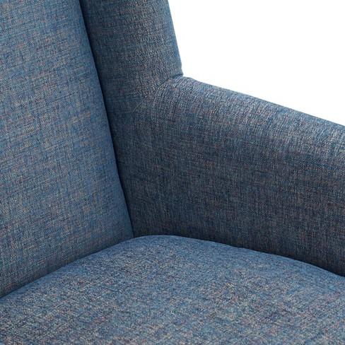 Astounding Adrian Accent Chair Blue Target Machost Co Dining Chair Design Ideas Machostcouk