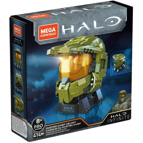 Mega Construx HALO Infinite Master Chief Helmet Construction Set - image 1 of 4