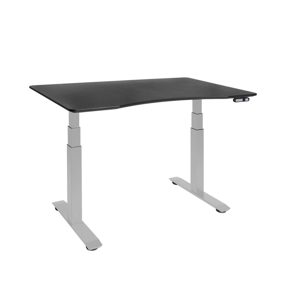 Image of Airlift S3 Height Adjustable Standing Desk Frame with 4 Memory Buttons Black - Seville Classics