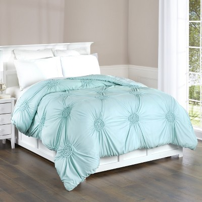 Lakeside Shabby Chic Comforter - Pleated Bedding