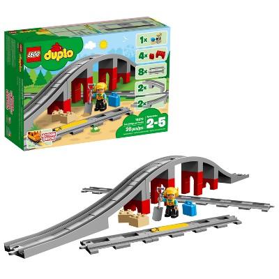 LEGO DUPLO Town Train Bridge and Tracks 10872