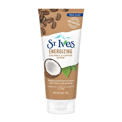 St. Ives Coconut & Coffee Scrub - 6oz