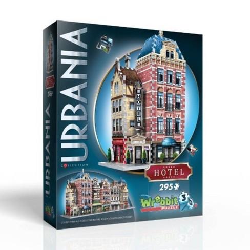 Wrebbit Urbania Collection Hotel 3D Puzzle 295pc - image 1 of 3