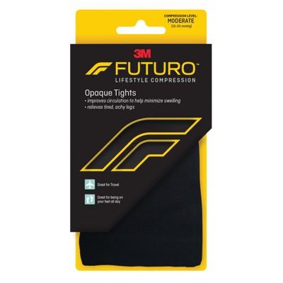 FUTURO Opaque Tights - Black