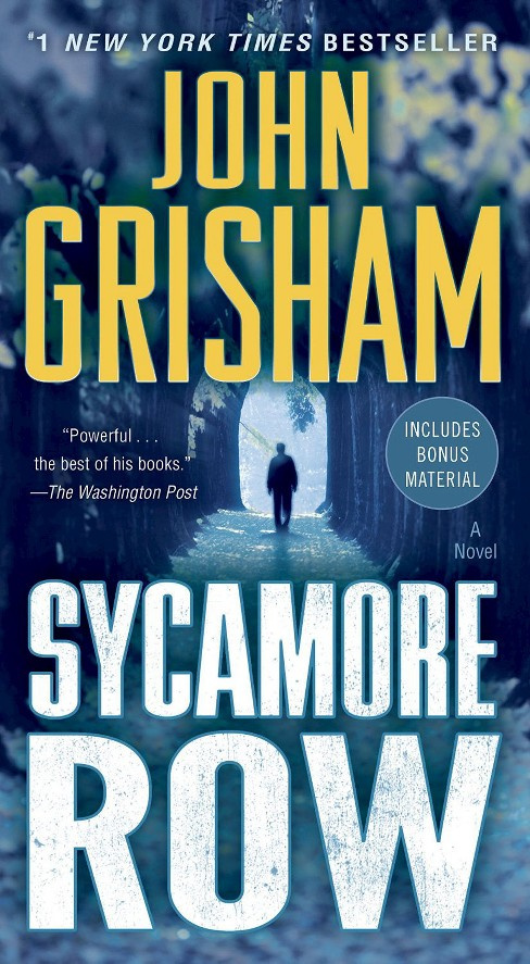 Sycamore Row (Paperback) by John Grisham - image 1 of 1