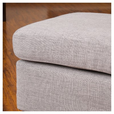 Rosella Fabric Ottoman - Christopher Knight Home : Target
