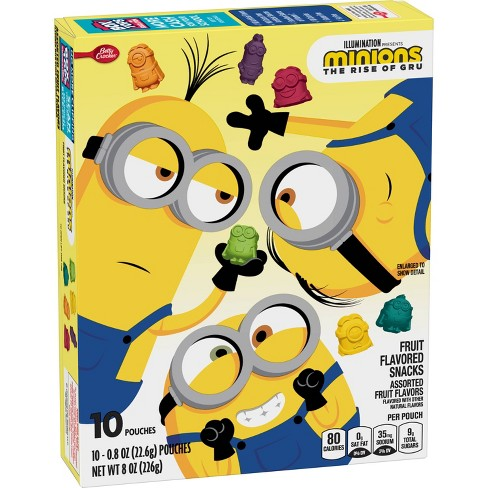 Betty Crocker Fruit Snacks Assorted Frt Minions 2 - 8oz 10ct - image 1 of 3