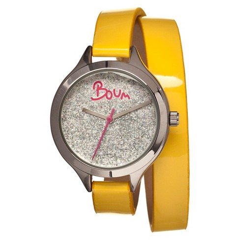 Women's Boum Confetti Watch with Custom Glitter Dial - image 1 of 3