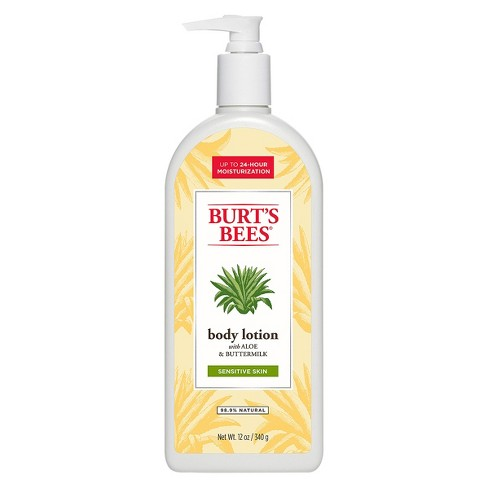 Burt's Bees Body Lotion -  Aloe and Buttermilk - 12 oz - image 1 of 2