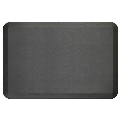 Black Midnight Newlife Anti-Fatigue Kitchen Mat (24 X36 )Gelpro