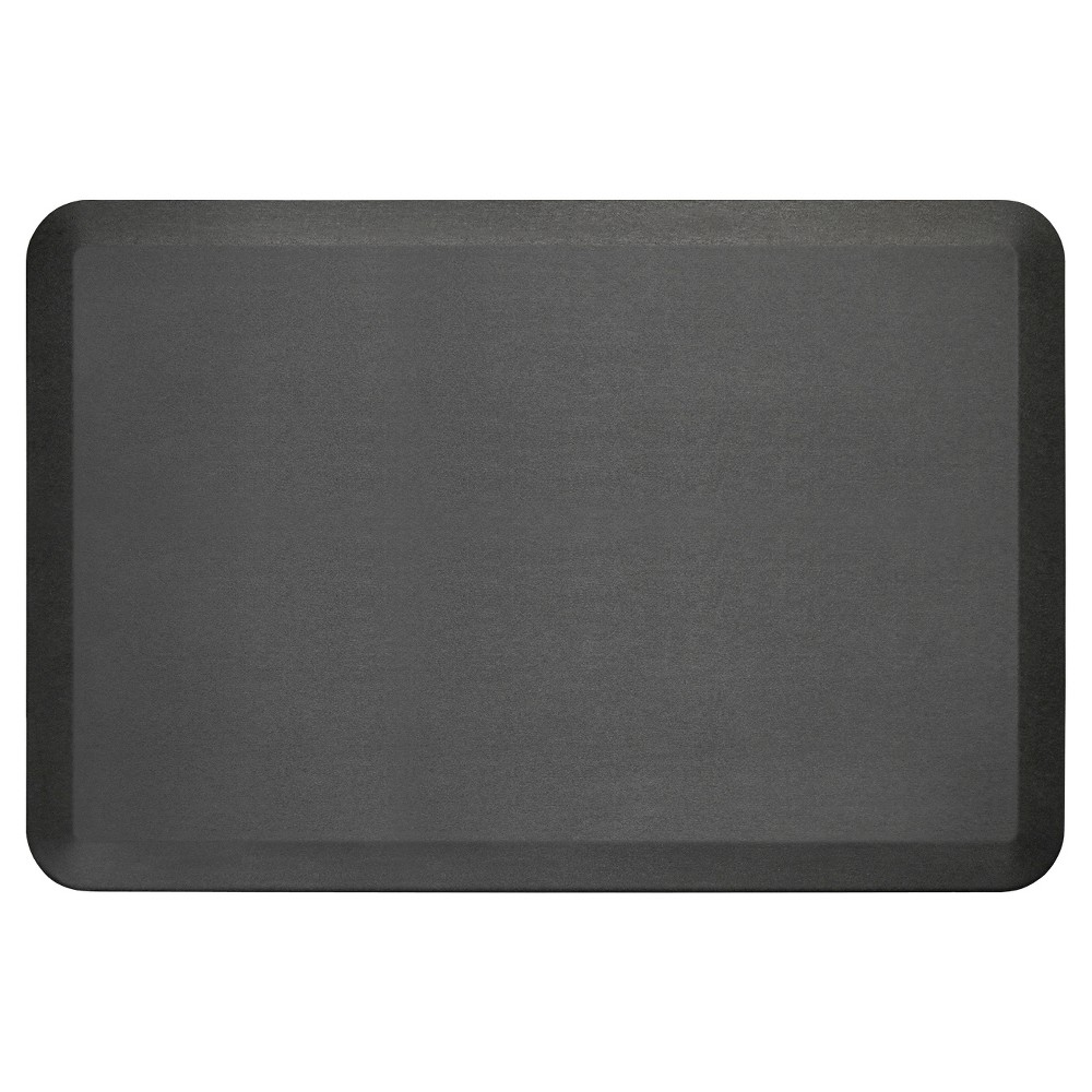 "Image of ""Black Midnight Newlife Anti-Fatigue Kitchen Mat (24""""X36"""") Gelpro"""