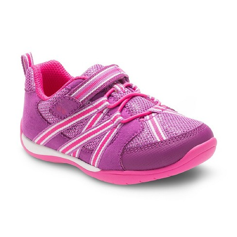 1cdae11cd580f Toddler Girls  Surprize By Stride Rite® Shea Bungee Sneakers - Purple    Target