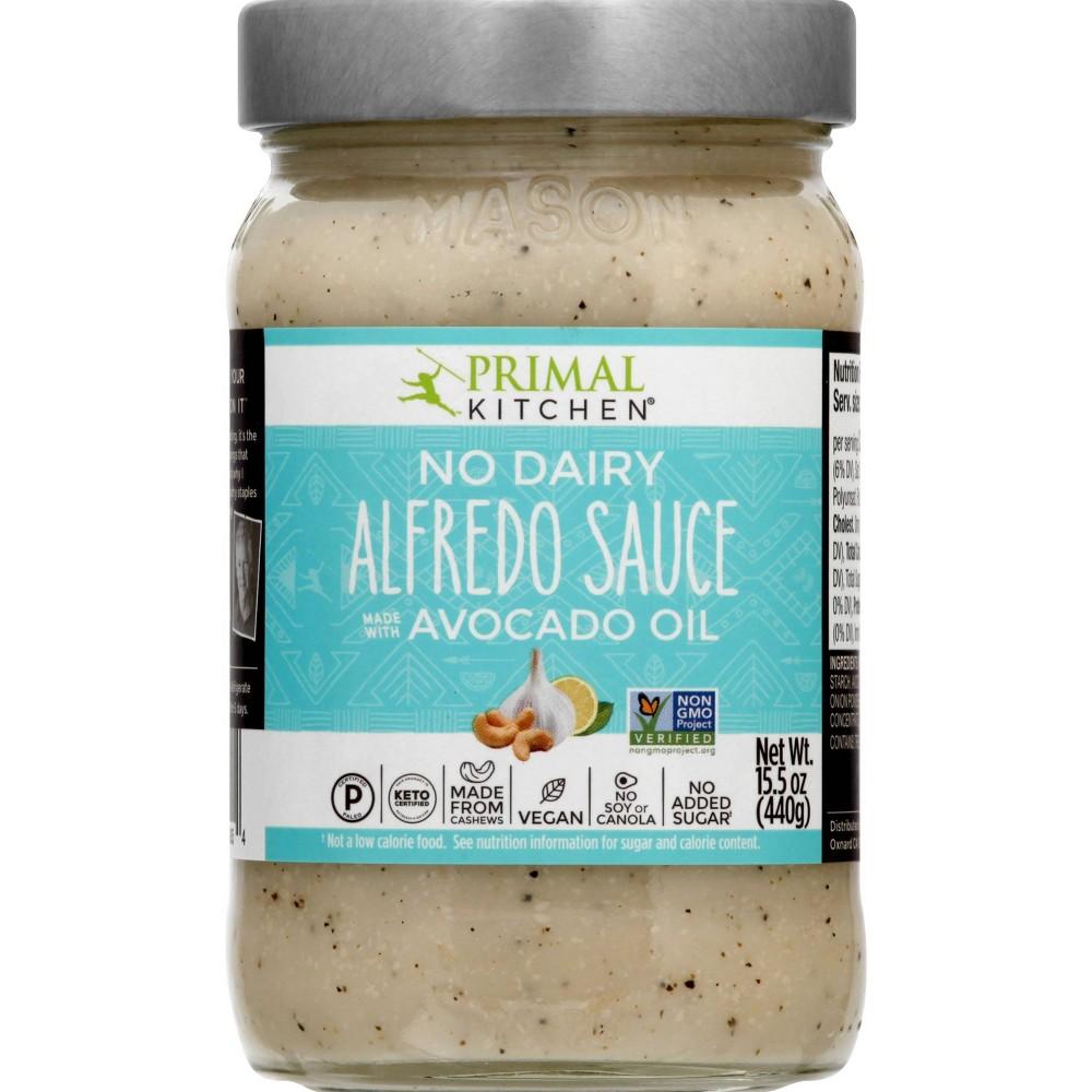 Primal Kitchen No Dairy Alfredo Sauce 15 5oz