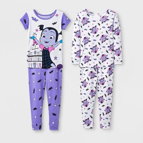 Toddler Girls' Vampirina 4pc Pajama Set - Purple - image 1 of 1